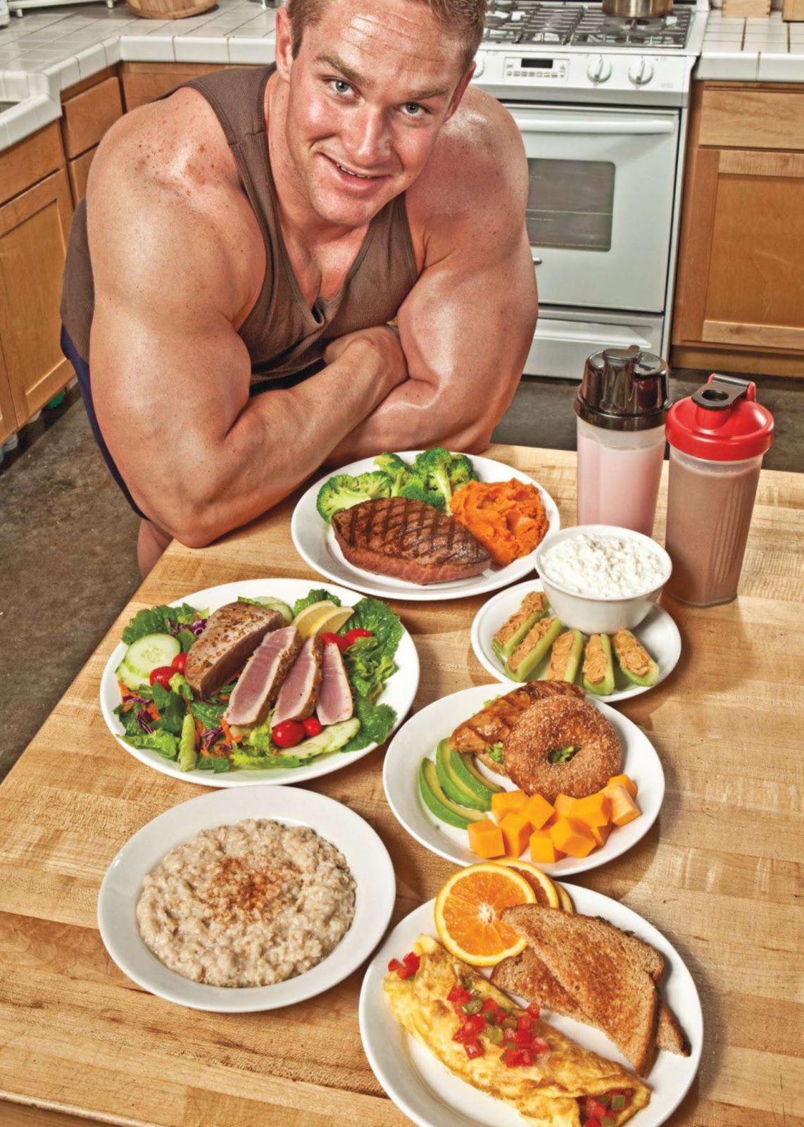 Что есть на завтрак для набора веса